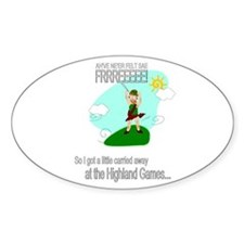 Highland Games Decal