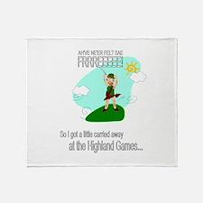 Highland Games Throw Blanket