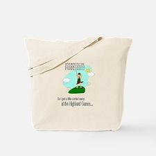 Highland Games Tote Bag