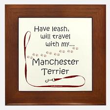 Manchester Travel Leash Framed Tile