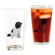Newfie (LS1) Drinking Glass
