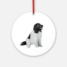 Newfie (LS1) Ornament (Round)