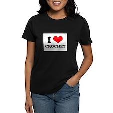 I Heart Crochet Tee
