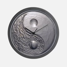 Yin Yang Tao Optic Wall Clock