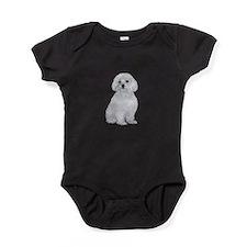 Maltese (#2) Baby Bodysuit