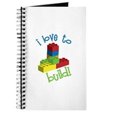 I Love To Build Journal