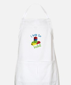 I Love To Build Apron