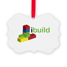 I Build Ornament