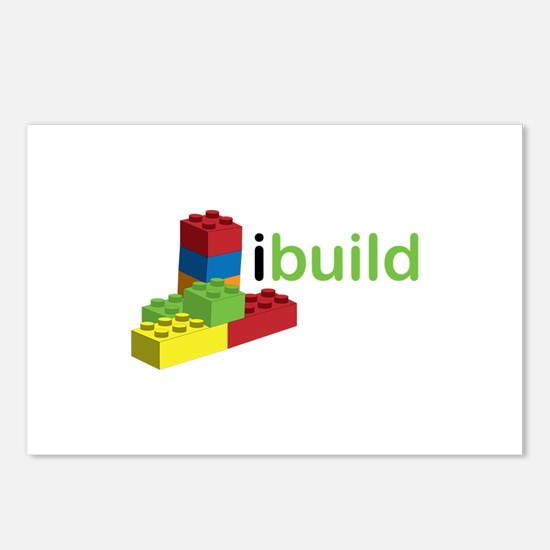 I Build Postcards (Package of 8)
