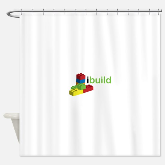 I Build Shower Curtain