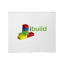 I Build Throw Blanket