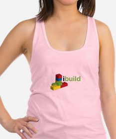 I Build Racerback Tank Top