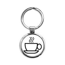 Mug Round Keychain