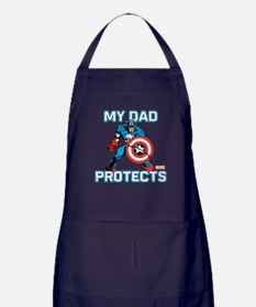 Cute Marvelcaptainamerica Apron (dark)