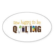 Sew Happy Stickers