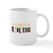 Sew Happy Mugs
