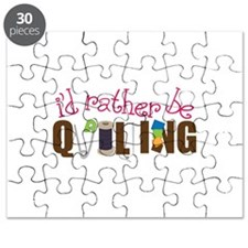 Is Rather Be Quilting Puzzle