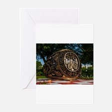Citadel Class Ring 2014 Greeting Cards