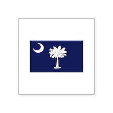 """Flag of South Carolina Square Sticker 3"""" x 3"""""""
