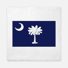 Flag of South Carolina Queen Duvet