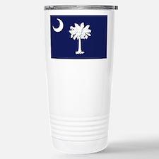 Flag of South Carolina Stainless Steel Travel Mug