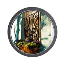 Window Box Wall Clock