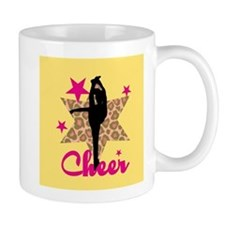 Pink Cheerleader Mugs