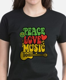 Peace-Love-Music T-Shirt