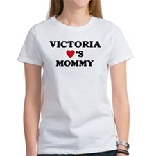 Victoria loves mommy Tee