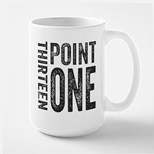 Thirteen Point One. 13.1. Half-Marathon. Mugs