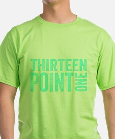 Thirteen Point One. 13.1. Half-Marathon. T-Shirt