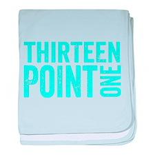 Thirteen Point One. 13.1. Half-Marathon. baby blan