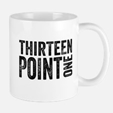 Thirteen Point One. 13.1. Half-Marathon. Mugs