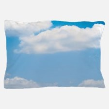 Blue sky of love Pillow Case