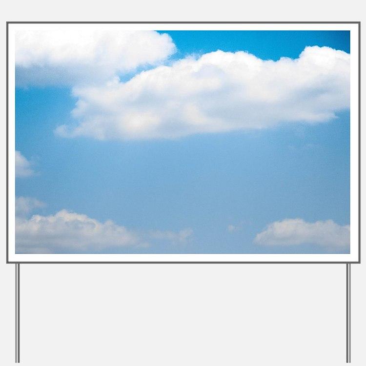 Blue sky of love Yard Sign