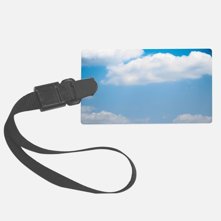 Blue sky of love Luggage Tag