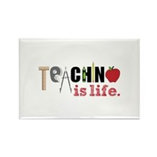 Teaching Is Life Magnets