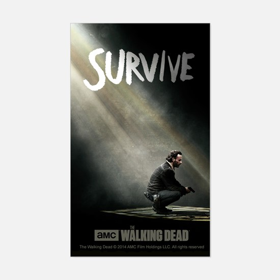 Survive The Walking Dead Decal