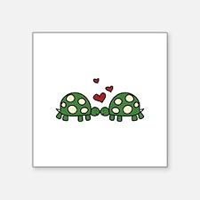 Love Turtles Sticker