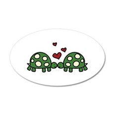 Love Turtles Wall Decal