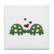 Love Turtles Tile Coaster