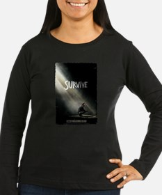 Survive The Walking Dead Long Sleeve T-Shirt
