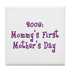 First Mother's Day Tile Coaster