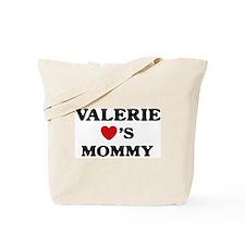 Valerie loves mommy Tote Bag