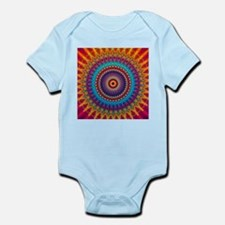 Fire and Ice mandala Body Suit