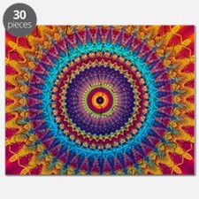 Fire and Ice mandala Puzzle