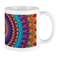 Fire and Ice mandala Mugs