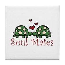 Soul Mates Tile Coaster
