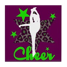 Cheerleaer Tile Coaster