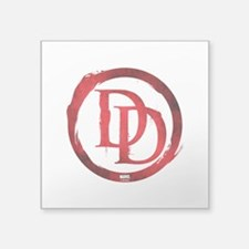 "Daredevil Symbol Square Sticker 3"" x 3"""
